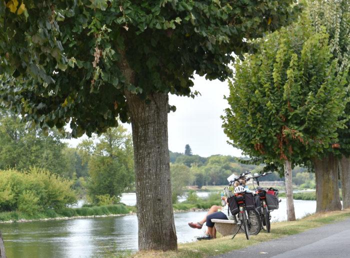 Ballade en vélo à Ousson-sur-Loire