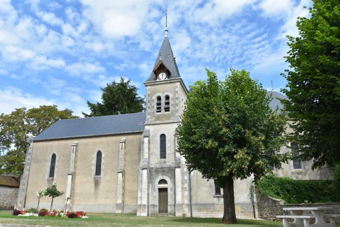 Eglise Saintte Marie Madeleine de Dammarie en Puisaye