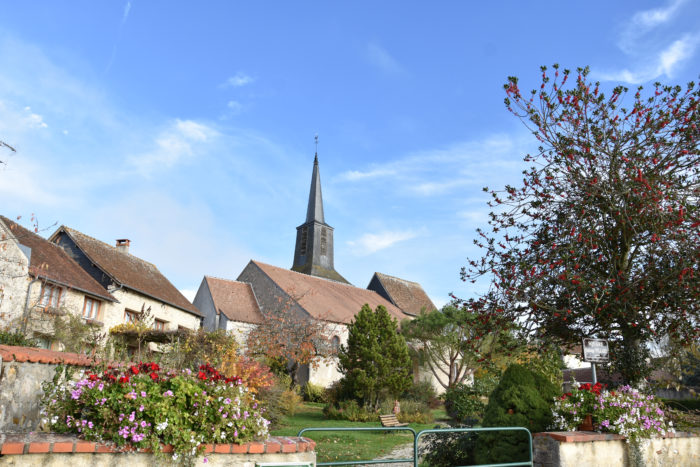 Le village d'Ousson-sur-Loire