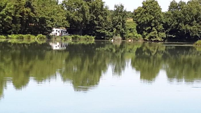 Bonny sur Loire – Gite du moulin – L'étang