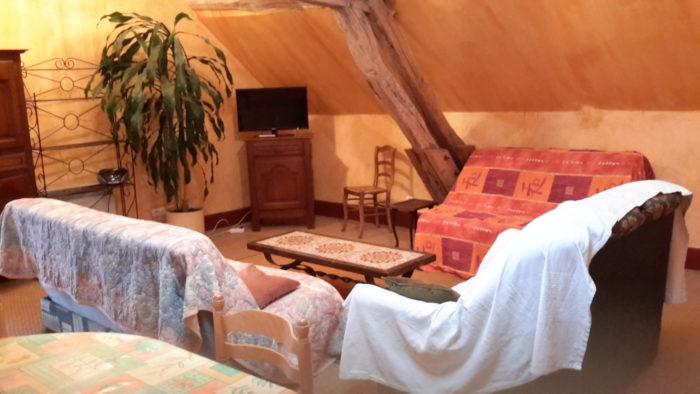 Bonny sur Loire – Gite du moulin-salon