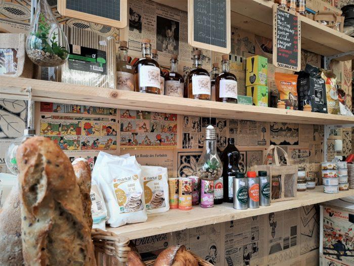 Cernoy en Berry-Restaurant Le Saint-Loup-Epicerie