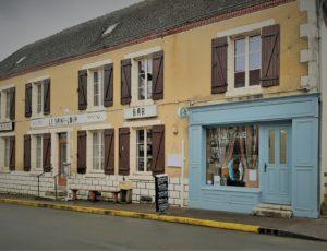 Cernoy en Berry-Restaurant Le Saint-Loup-Façade