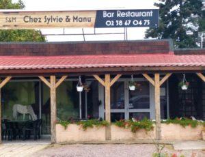 Façade Restaurant chez Sylvie & Manu à Ousson