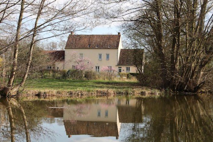 Ouzouer sur Trézée- gite du canal les fichus-Le gite au bord du canal de Briare
