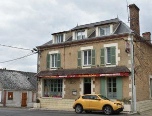 Autry-le-chatel – Au Charme d'Antan – Façade