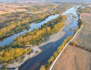 Beauieu sur Loire – Base de Beaulieu – ULM vue aérienne Loire – octobre 2018 – IRémy