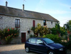 Beaulieu-sur-Loire-La-Chanvrière : cour extérieure