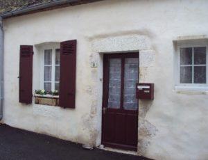 Bonny-sur-Loire, Chambre d'hôte de Bonny, façade