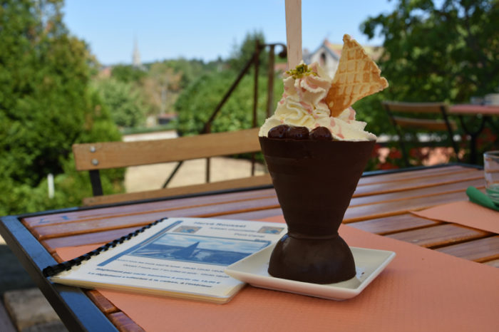 Briare-Chocolat et Chimères-Coupe glacé de chocolat