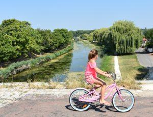 Briare – canal enfant Loire à vélo