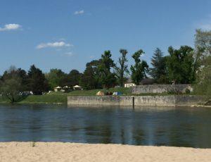 Chatillon sur Loire-Camping municipal des Combles – vue générale