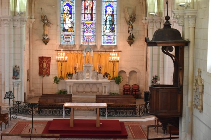 Cernoy en Berry – église St Martin choeur – 6 août 2018 – OT Terres de Loire et Canaux – IRémy (7)