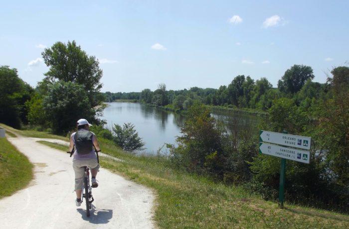 Ballade en vélo à Châtillon-sur-Loire