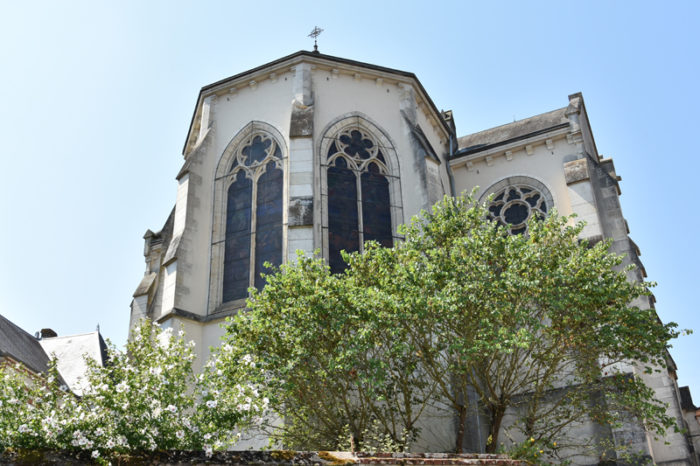 Châtillon sur Loire – Eglise St Maurice chevet- 26 juillet 2018 – OT Terres de Loire et Canaux – IRémy  (19)
