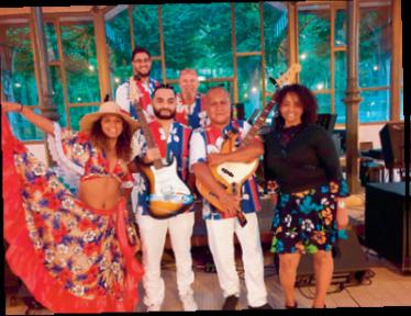 Concert festivf Tropik'Sun. Profi FB de Tropcik'Sun