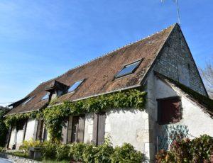 Beaulieu sur Loire – Restaurant Chez Tintin-façade