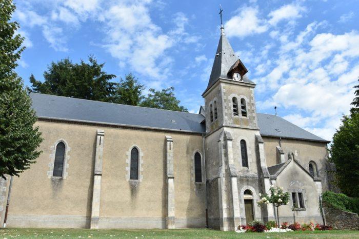 Dammarie en Puisaye- église Ste Marie Madeleine – 1 août 2018 – OT Terres de Loire et Canaux -IRémy (26)