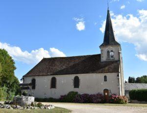 Escrignelles – église Notre Dame – 1er août 2018  – OT Terres de Loire et Canaux – I Rémy (6)