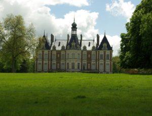 Breteau – vue du chateau
