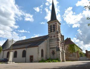 La Bussière – Eglise Notre Dame  – 1er août 2018 – OT Terres de Loire et Canaux – IRémy (63)