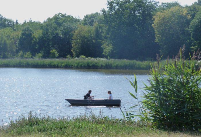 Promenade en barque à la Bussière