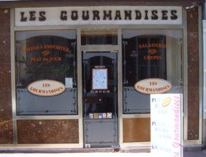Chatillon sur Loire -Les Gourmandises -façade