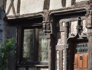 Ouzouer sur Trézée – maison pans de bois – 1er août 2018 – OT Terres de Loire et Canaux – IRémy (37)
