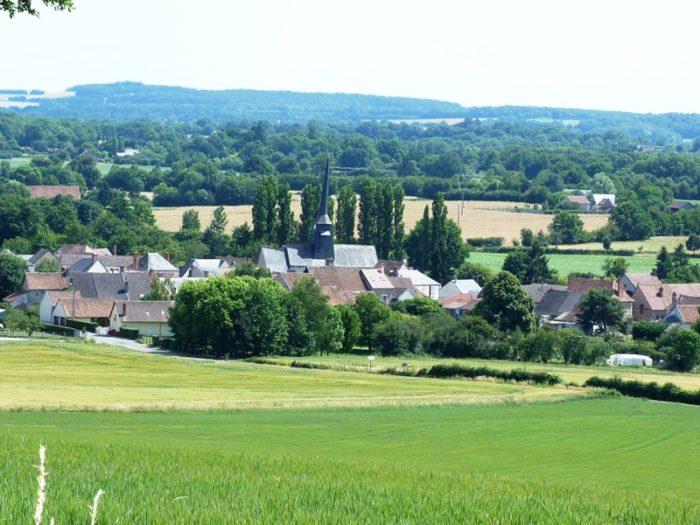 vue du village de Pierrefitte-Es-Bois