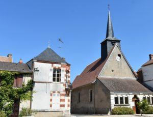 St Firmin sur Loire – église St  Firmin – 6 aout 2018 – OT Terres de Loire et Canaux – IRémy  (49)