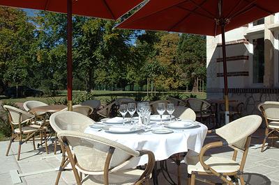 Briare-Domaine des Roches-Terrasse du restaurant