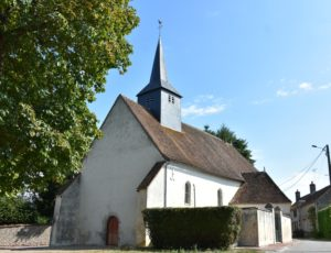 Thou – église St Loup – 1er aout 2018 – OT Terres de Loire et Canaux -IRémy (5)