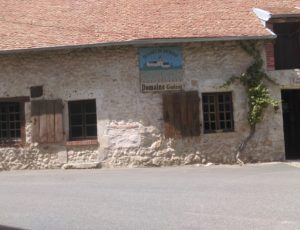 Beaulieu sur Loire – Domaine Guérot- façade de la cave