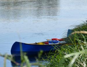 canoé à Beaulieu-sur-Loire