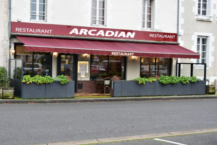 Briare-Restaurant l'Arcadian-façade