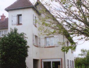 Beaulieu sur Loire – gîte les Henrions – façade extérieure