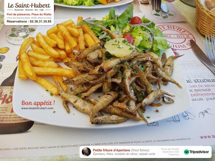 Restaurant Le Saint-Hubert de Briare – Plats et Service à table