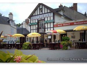 Restaurant Le Saint-Hubert de Briare – Façade