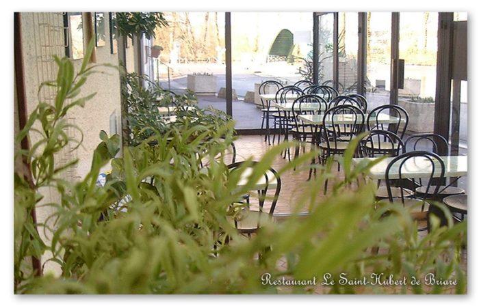 Restaurant Le Saint-Hubert de Briare – Veranda, Terrasse couverte