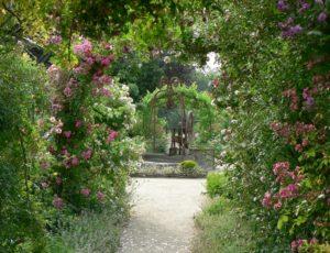 Jardin la Bussière au printemps